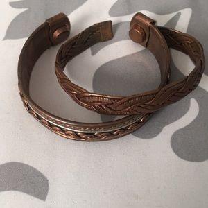 Jewelry - SET OF COPPER BRACELETS